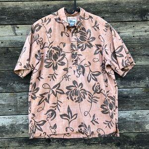 Alfred Shaheen By Reyn Spooner Floral Print Shirt